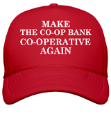 Make the Co-op Bank Co-operative Again satyrical hat