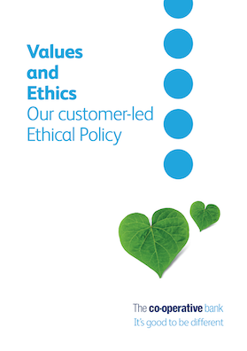 Ethical policy front page