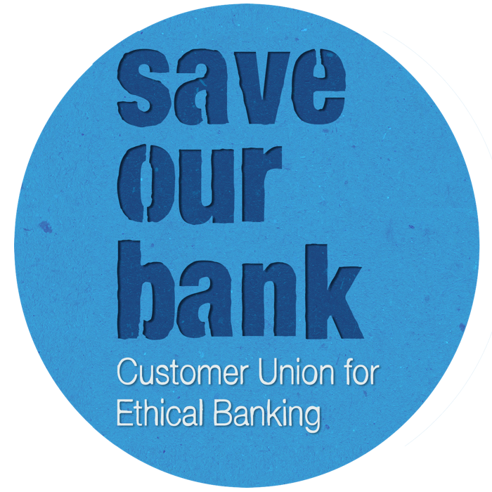 Save Our Bank logo